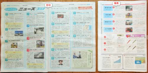 朝日・読売中高生新聞ニュース